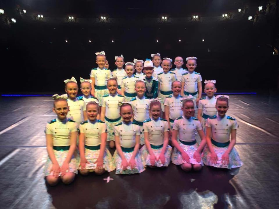 Dance Students on the stage at the Alhambra - Fearons Middleton